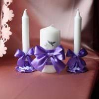 идея шикарного декорирования свечей своими руками фото