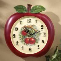 вариант оригинального оформления часов своими руками картинка