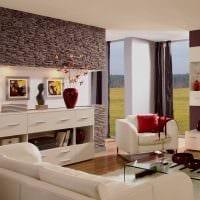 вариант светлого декора гостиной комнаты своими руками фото