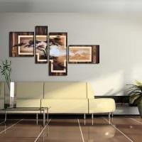 идея яркого декорирования гостиной своими руками картинка