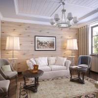 вариант красивого украшения гостиной комнаты своими руками картинка