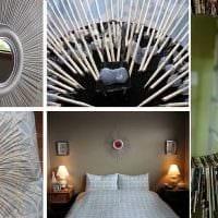 идея шикарного декорирования комнаты деревом своими руками картинка