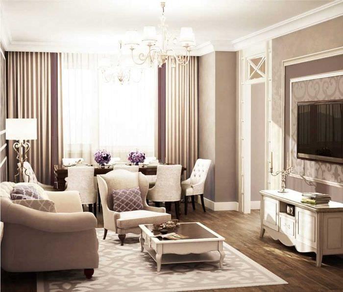 комбинирование ярких цветов в интерьере квартире