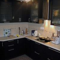 комбинирование светлых цветов в интерьере кухни картинка