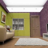 сочетание темных цветов в дизайне комнате фото