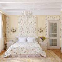 комбинирование светлых штор в дизайне комнате фото