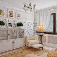 яркое оформление дизайна комнаты в стиле прованс фото