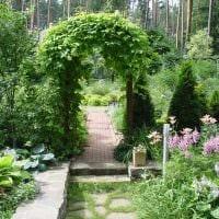 красивое создание декора загородного дома цветами картинка