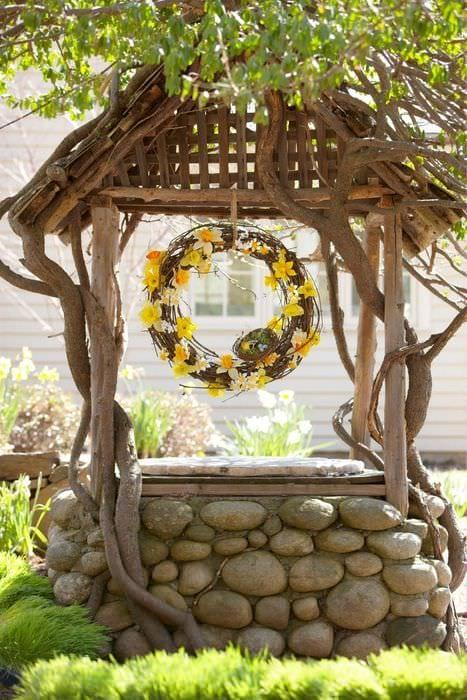 Садовый декор своими руками фото модели