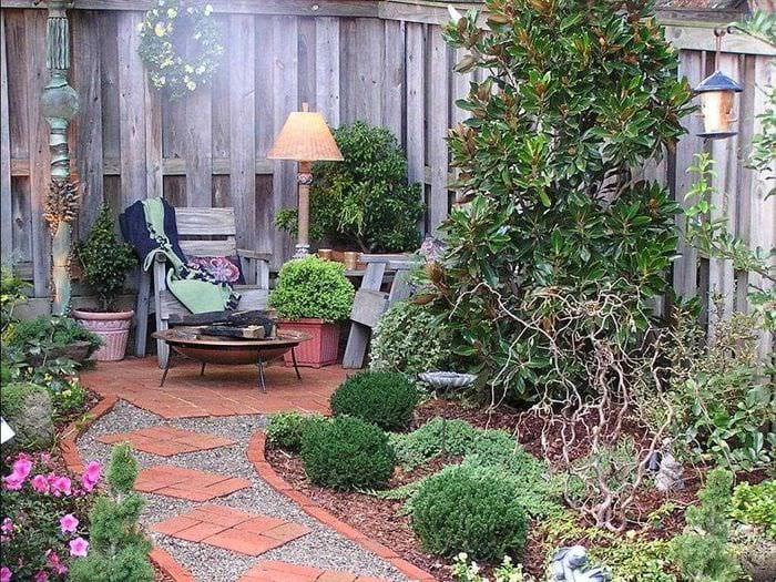 оригинальное оформление дизайна загородного дома подручными средствами