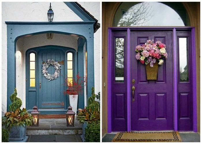 что ещё как сделать красивые двери для фотосессии фото
