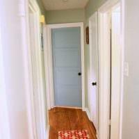 оригинальное оформление межкомнатных дверей своими руками фото