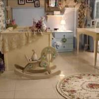 необычное украшение интерьера квартиры в стиле прованс фото