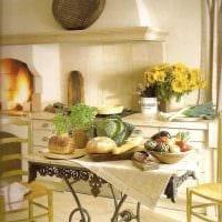 красивое декорирование дизайна комнаты в стиле прованс картинка