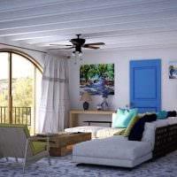 оригинальный интерьер квартиры в средиземноморском стиле фото