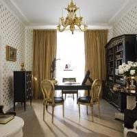 светлый дизайн спальни в стиле ампир фото