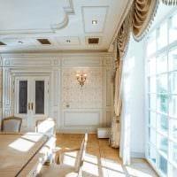 красивый декор комнаты со стеновыми панелями фото