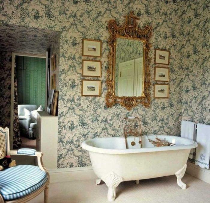 красивый дизайн дома в викторианском стиле