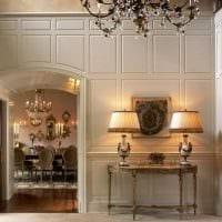 светлый декор спальни со стеновыми панелями картинка