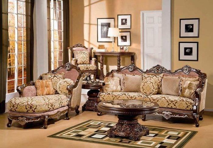 темный стиль спальни в викторианском стиле