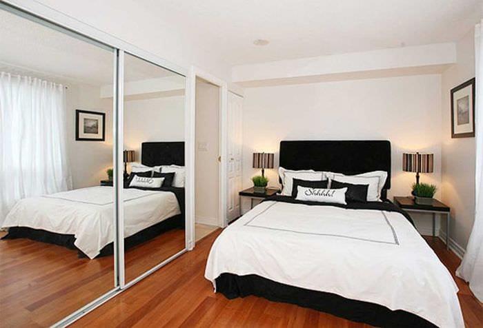 красивый декор спальной комнаты