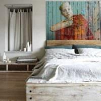 необычный стиль квартиры в стиле рустик картинка