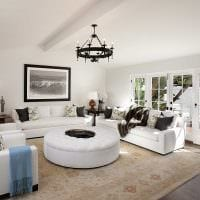 красивый декор комнаты в средиземноморском стиле фото