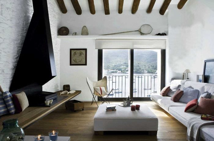 красивый дизайн квартиры в средиземноморском стиле