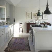 светлый дизайн квартиры в стиле прованс картинка