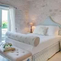 красивый стиль спальни в греческом стиле картинка