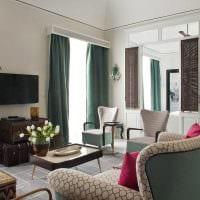 оригинальный декор гостиной в средиземноморском стиле фото