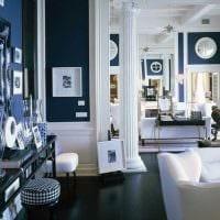 светлый интерьер гостиной в средиземноморском стиле фото