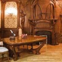 яркий декор гостиной в стиле модерн картинка