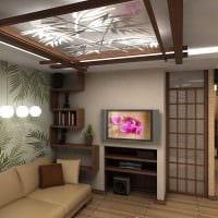 красивый интерьер комнаты в восточном стиле картинка