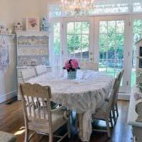 красивый стиль комнаты в винтажном стиле фото