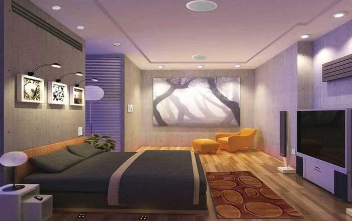 оригинальный фасад спальни