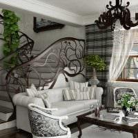 красивый интерьер гостиной в стиле модерн картинка