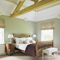 красивый интерьер комнаты в горчичном цвете фото