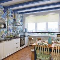 яркий декор комнаты в средиземноморском стиле картинка
