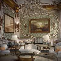 оригинальный интерьер комнаты в стиле ампир фото