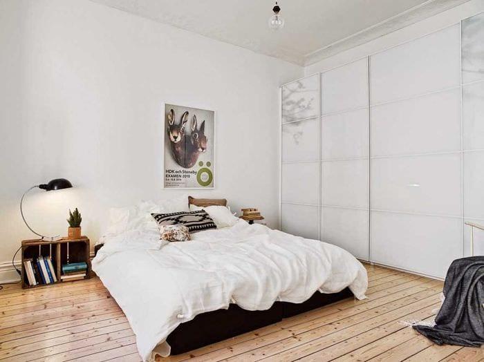 светлый стиль спальной комнаты