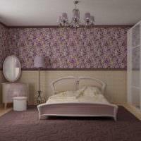 яркий фасад спальни картинка