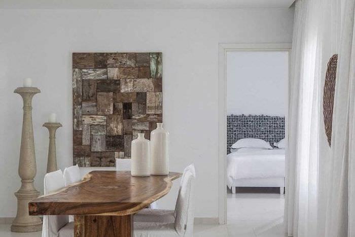 красивый дизайн дома в греческом стиле