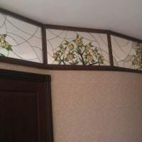 мозаичный витраж в стиле квартиры фото