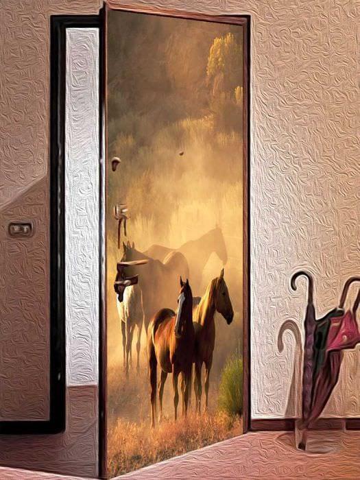 чем можно обновить железную дверь с фото пилинг медом