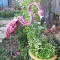 красивое украшение сада своими руками картинка