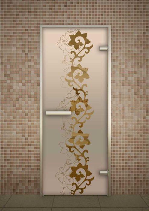 оригинальное украшение межкомнатных дверей своими руками