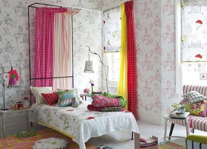 красивое украшение спальни своими руками