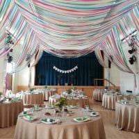 красивое декорирование зала шариками фото
