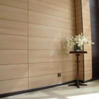 красивый интерьер спальни со стеновыми панелями фото